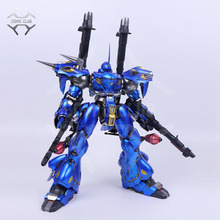 COMIC CLUB IN STOCK 1/72 moshow poison toys Kampfer gundam MS 18E metal build contains led light eye alloy figure toy