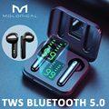 MOLO наушники-вкладыши TWS Bluetooth 5,0 Беспроводной наушники Беспроводной Bluetooth наушники с микрофоном спортивные гарнитуры сенсорный Управление Т...