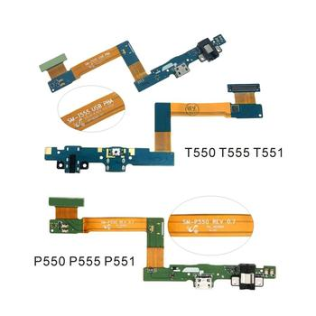 USB Charging Dock Connector Charge Port Socket Jack Plug Flex Cable For Samsung Galaxy Tab A 9.7 T555 SM-T555 T550 P550 P555 image