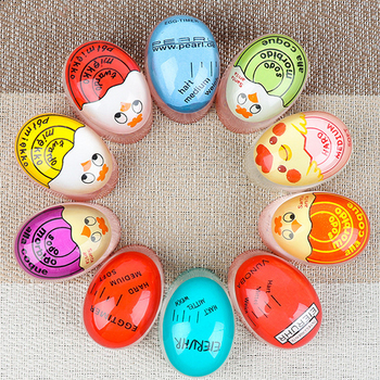 Egg Timer Color Changing Timer Kitchen Tools Gadgets Egg Cooker Helper Yummy Soft Hard Boiled Eggs Cooking Eco-Friendly Resin