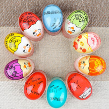 Egg Timer Color Changing Timer for Kitchen Tools Gadgets Egg Cooker Helper Yummy Soft Hard Boiled Eggs Cooking