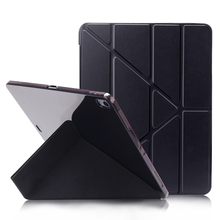 Case For iPad Pro 12.9 2018 Smart Cover Magnetic PU Leather+ Soft TPU Back Flip Case For iPad Pro 12.9 2015 2016 2017