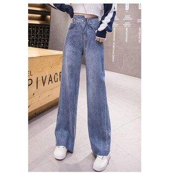 цена JUJULAND Jeans Woman Fashion Streetwear Woman's Jeans Personality Belt High Waist Jeans Vintage Boyfriend Jeans For Women 6642 онлайн в 2017 году