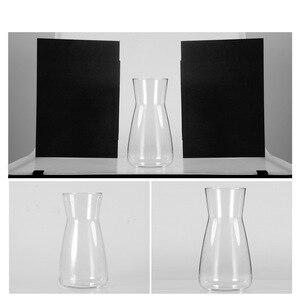 Image 4 - Отражатель для фотосъемки, складной картон, белый, черный, серебристый, светоотражающая бумага, мягкая доска, реквизит для фотосъемки