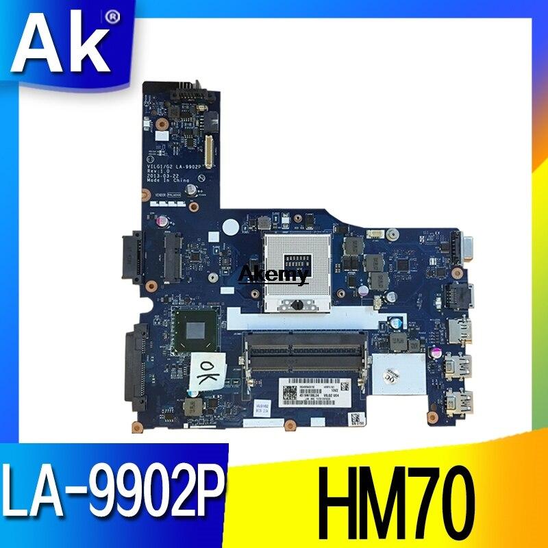VILG1/G2 LA-9902P carte mère pour Lenovo G500S ordinateur portable carte mère HM70 DDR3 prend en charge Pentium CPU 100% travail de test