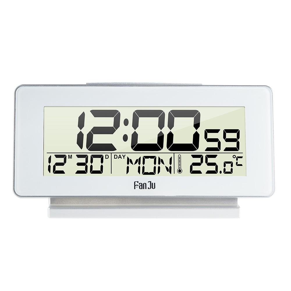FanJu FJ3523 Electronic LED Digital Alarm Clock With Thermometer Backlight Snooze Function Desktop Table Clock 12H/24H Hot