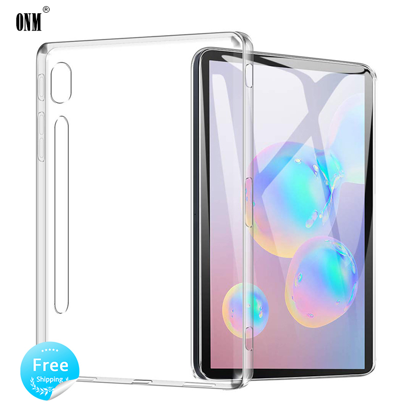 Case For Samsung Galaxy Tab S6 10.5 2019 TPU Silicon Clear Soft Case for Samsung Tab S6 SM-T860 SM-T865 Transparent Back Cover image