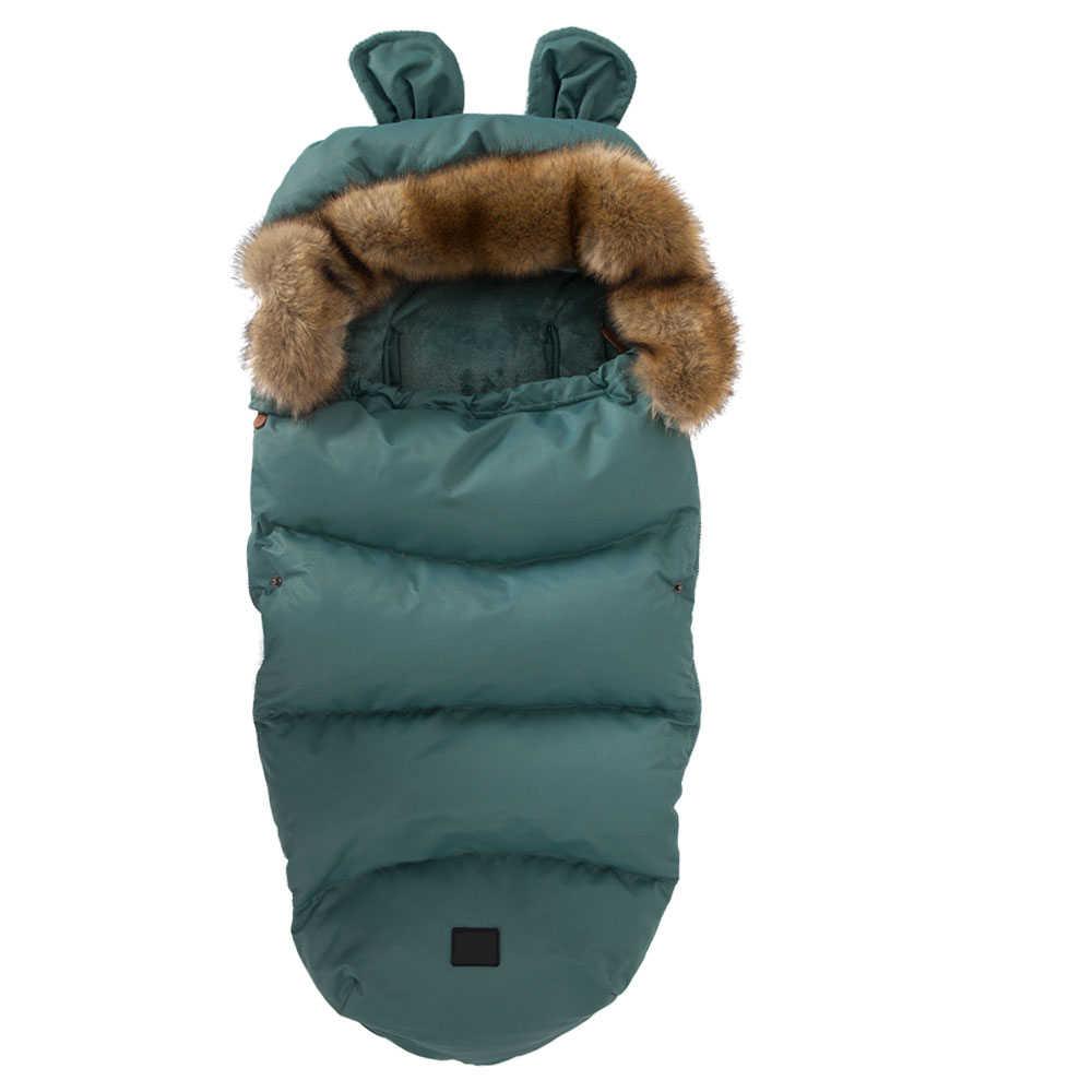 Kokon dla noworodków koperta dla dziecka do rozładowania śpiwór dla dziecka ciepła zimowa koperta dla noworodków pieluszka kokon w wózku