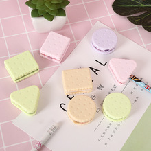 5pcs Cute Cookie Pencil Sharpener Primary School Childrens Creative Stationery(random colors)