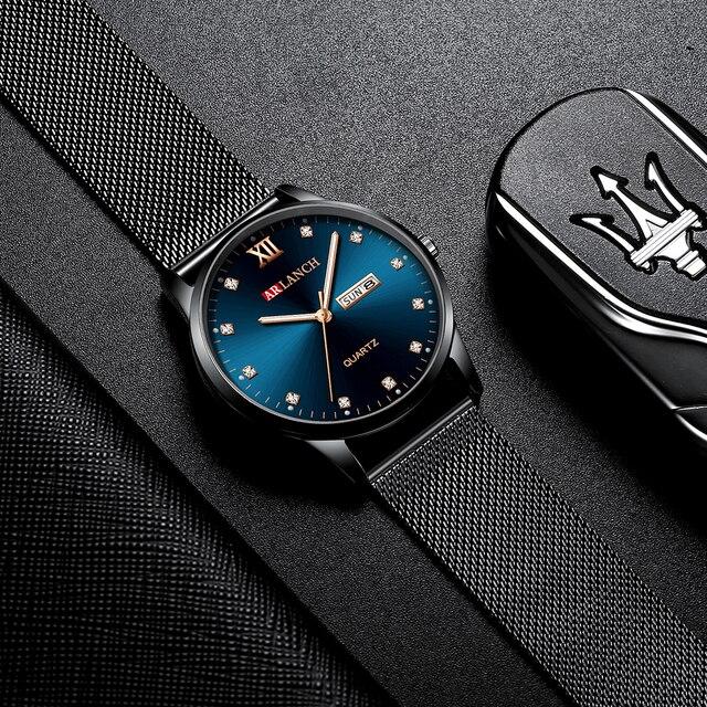Купить мужские часы модные бизнес алмаз водонепроницаемые мужские кварцевые картинки цена