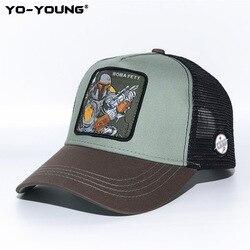 Yo-Young бейсболка для мужчин и женщин, Звездные войны, Дарт вадер, штурмовик, кепка s, Мандалорская бейсболка, бейсболка, шляпа от солнца, 53-59 см