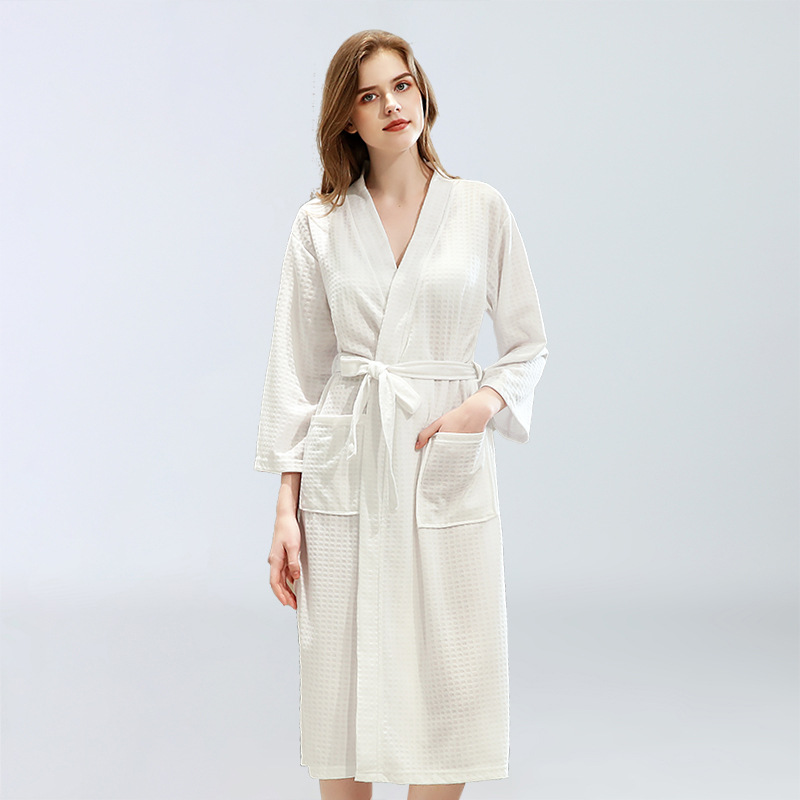 Men Women's Sleep Lounge Robes spring Nightgrowns Couple sexy lingerie Robe Bathrobe Male Female Dressing Gown Lounge Homewear