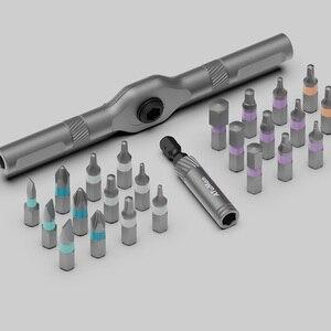 Image 5 - Youpin ATuMan RS1 24Pcs Tool Kit FAI DA TE Cassetta Degli Attrezzi Generale Delle Famiglie di Utensili A Mano con Cacciavite Coltello Cassetta Degli Attrezzi più nuovo disegno