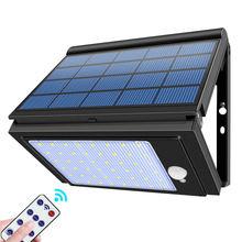 New foldable solar light brightness adjustable pir motion sensor