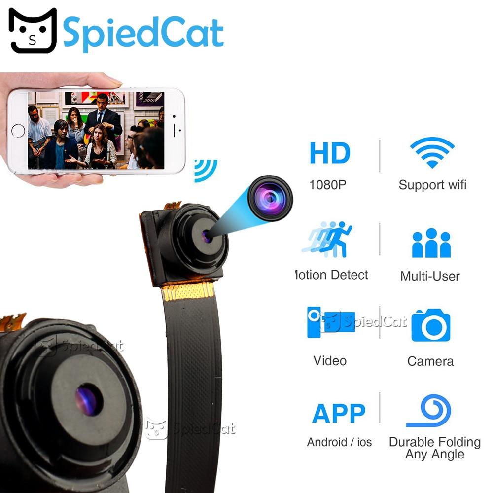 1080P Full HD H.264 Ultra Mini WIFI Flexible Camera Video Audio Recorder Motion Detection Camcorder IP P2P Micro Cam 3000mAh(China)