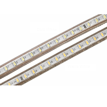 220V LED Light Strip 3014 SMD IP67 Waterproof 120LEDs/m Indoor Outdoor Flexible LED Strip Light White/Warm White/EU Power plug