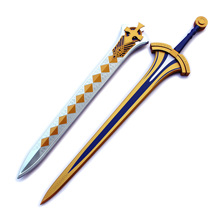 Excalibur Fate King Arthur Pendragon Saber Cosplay Sword and Scabbard Costume Prop цена и фото