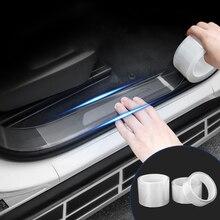 LEEPEE Защита от царапин на пороге автомобиля Защита от царапин края двери автомобиля Защита авто багажник двери наклейка прозрачная пленка наклейка