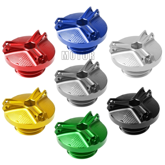 For Suzuki SV1000/SV1000S 2003-2007 2004 2005 2006 SV 1000 S Motorcycle CNC Aluminum Oil Cap Cover Engine Oil Filler Cup Plug