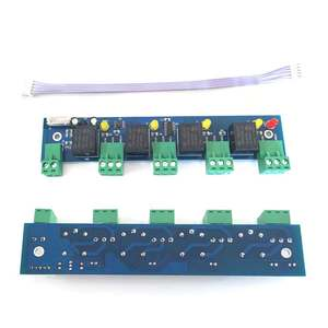 Image 5 - Contrôle daccès tcp/ip à deux portes, contrôle daccès, lecteur wg26/34, support de présence, accès/alarme/doigt/web/téléphone, sn:At 02, dernier modèle