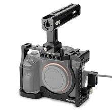 Gabbia per fotocamera MAGICRIG con impugnatura NATO + morsetto per cavo HDMI per Kit di estensione fotocamera Sony A7RIII /A7III /A7SII /A7RII /A7II /A7M3
