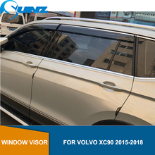 Side window deflectors For VOLVO XC90 2015 2016 2017 2018 Window Air Vent Visor Sun Shade Awnings Shelters Guards  SUNZ