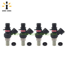 CHKK-CHKK  FBYCG80 16600-AA270 Fuel Injector for Subaru Impreza RX 2.0L EI 8008212 2007~2012 Forester 2008 2.0L H4 EJ20 free ship turbo for subaru forester impreza 1997 58t ej20 ej205 2 0l td04l 49377 04100 14412 aa260 turbocharger gaskets pipe