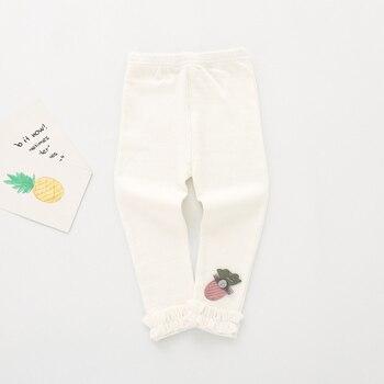 white cotton leggings