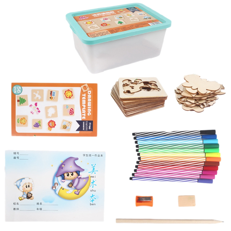 Baby Drawing Toys Coloring Board Children Creative Doodles Early Learning Educational Toy Boy Girl Learn Drawing Tools