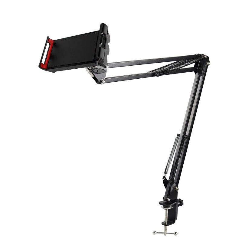 Support de téléphone portable en métal 6 à 11 pouces, Support de tablette, à bras Long, Clip de Support de lit paresseux pour Xiao mi Pro Air Mini