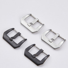 Clasp-Accessories Armani Metal for Huawei 24mm 18-20-22 316 Buckle Watchband-Strap Stainless-Steel