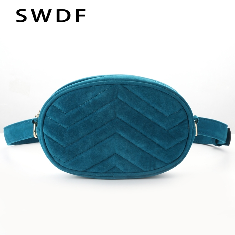SWDF Fanny Pack For Women Fashionable Banana Waist Bag Travelling Mobile Phone Bags Belt Bag Kidney Pochete Feminina Nerka Chest