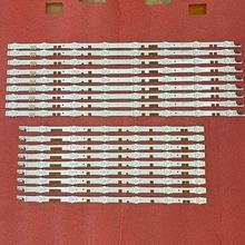 18 قطعة LED الخلفية قطاع لسامسونج UE55JU6800K UE55JU6870U UE55JU6800 UE55JU6872U UN55JS700DF 55JU6800 V5DR_550SCA 550SCB_R0