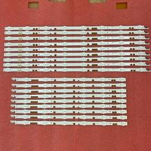 18 pièces LED bande de rétro éclairage pour Samsung UE55JU6800K UE55JU6870U UE55JU6800 UE55JU6872U UN55JS700DF 55JU6800 V5DR_550SCA 550SCB_R0