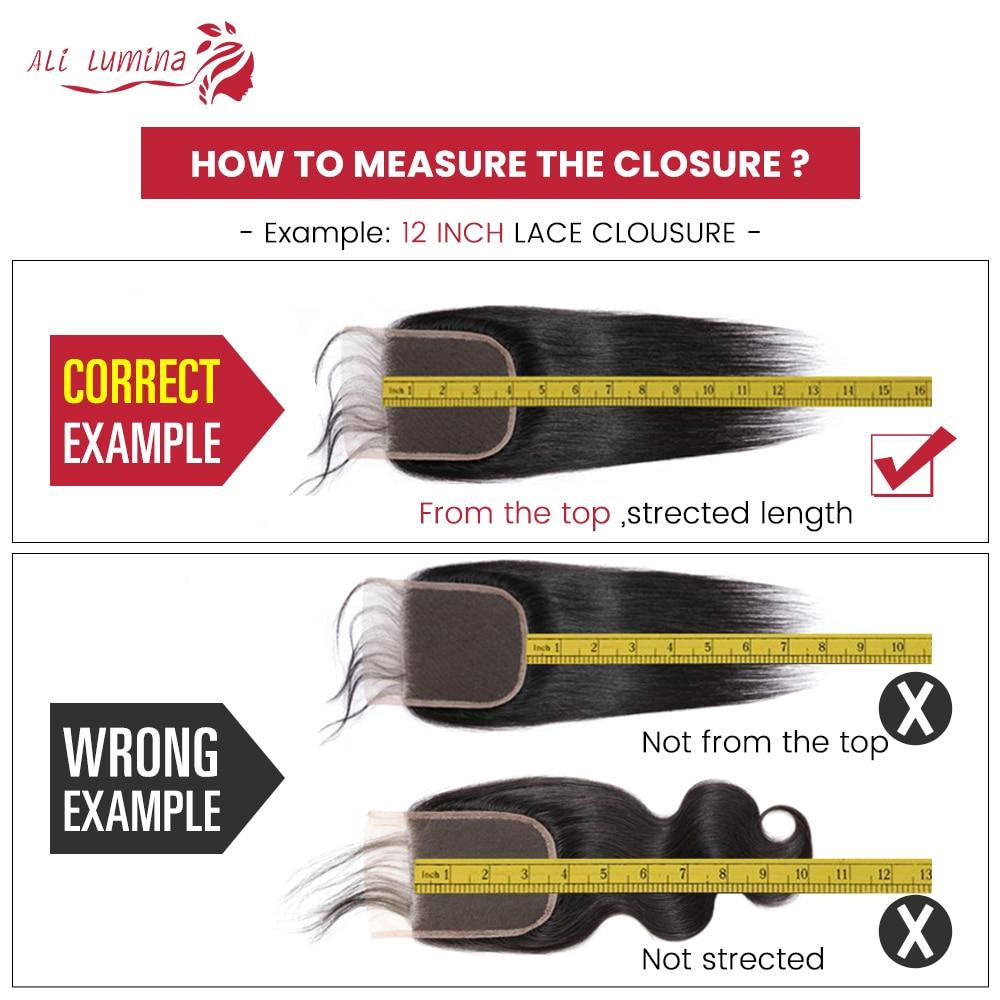 4x4 Lace Closure 100%  Closure Sample     Hair Water Wave Frontal 8 Inches Short Hair 6