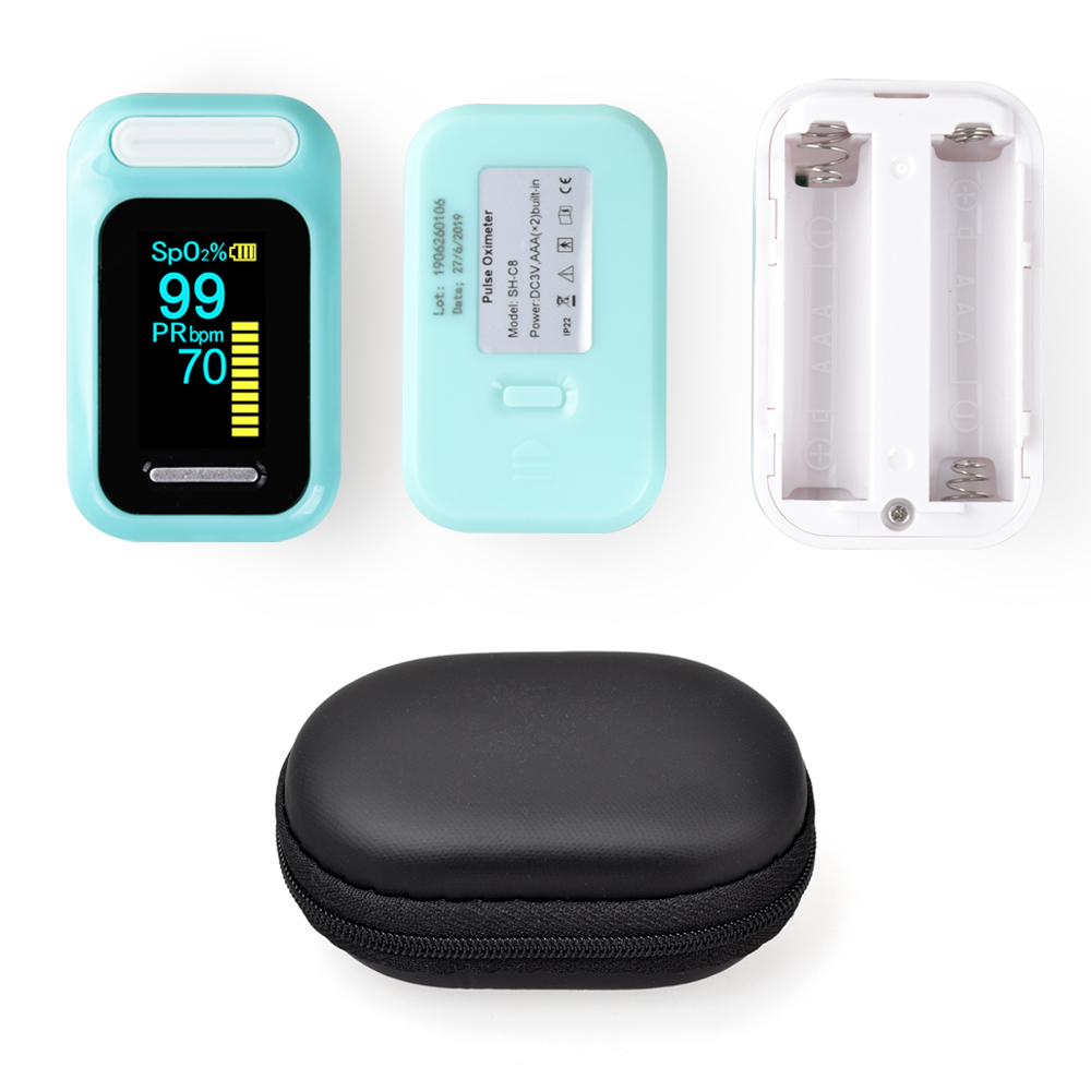 ELERA Finger Pulse Oximeter with OLED Display to calculate Blood Oxygen Saturation 11