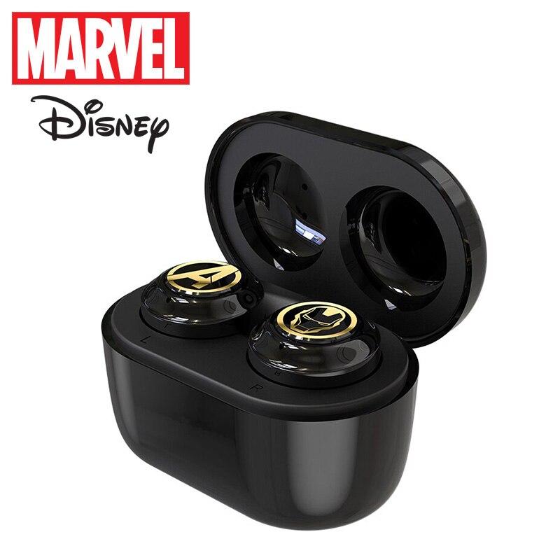 Captain Marvel Iron Man TWS Earphones Wireless Bluetooth Spider Man Marvel Certified Earbuds TWS True Wireless Stereo Headset|Bluetooth Earphones & Headphones| - AliExpress