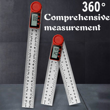 0-200mm 0-300mm Digital Meter Angle Inclinometer Angle Digital Ruler Electron Goniometer