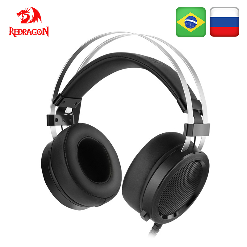 Redragon SCYLLA H901 Gaming Headset Gamer Für <font><b>PC</b></font> PS4 Schalter Telefon Surround Pro Wired Computer Stereo Headsets Mit Mikrofon image