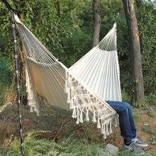 Promotion camping hammock hanging chair indoor swing brazilian hammock