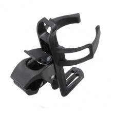 360 Degree Rotation Bicycle Bottle Holder Adjustable MTB Road Bike Water Cage Black