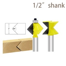 цена на 2PC1/2 SHANK  woodworking router bit,router bits for wood,wood milling cutter,window cutter fresas para metal router bit set