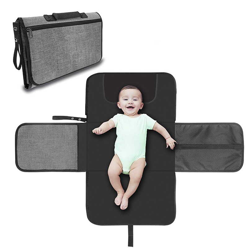 Baby Changing Pad Portable Baby Changer Waterproof Mattress Children Game Floor Mats Folding Diaper Bag Baby Nappy Changing Mat