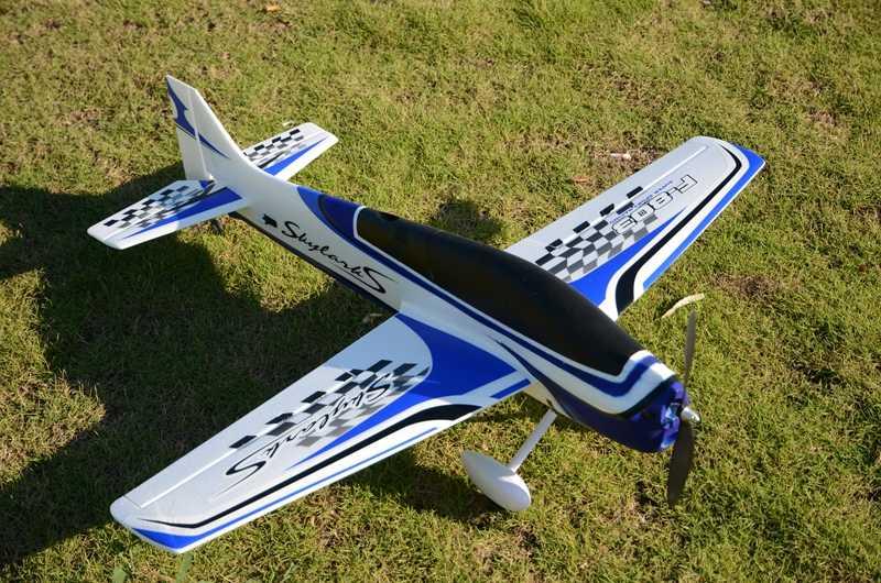 Sport RC aereo 950mm apertura alare EPO F3A FPV aereo RC KIT aereo per bambini modelli di giocattoli all'aperto rosso blu verde