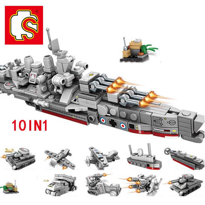 を千房けん輔テクニックボート戦車ビルディングブロックレンガ Legoing 軍事戦争 DIY 技術者のおもちゃ子供