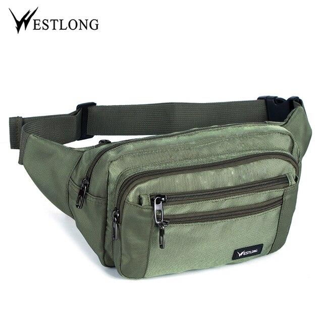 เอวชายCasual Functionalหน้าอกกันน้ำกระเป๋าเข็มขัดBumกระเป๋าโทรศัพท์กระเป๋าสตางค์กระเป๋ากระเป๋าUnisex Fanny Pack 3935