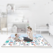 XPE Baby Climbing Mat 200*180*1CM Baby Play Mat Thickening Kids Activity Pad Developing Carpet Children's Games Crawling Mats double surface baby play mat 200 180 0 3cm crawling mat baby carpet animal car dinosaur developing mat for children game mats