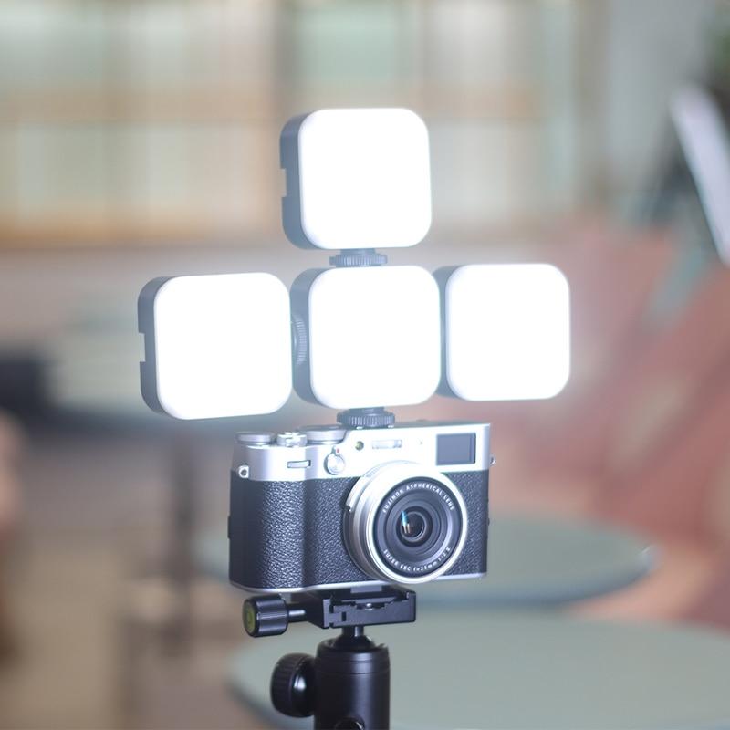Ulanzi u bright 2700k 6500k 750lm 75 w мини светодиодный видео