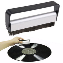 spiral crocister 8 x 1 5 in vinyl sheath with a brush and a handle vinyl cleaning device vinyl braided helix vinyl braided helix Home Vinyl Record Cleaning Brush Useful Carbon Fiber Record Cleaner Cleaning Brush Vinyl Anti Static Dust Remove Bath Clean Tool