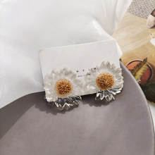 Students Little Daisy and Sunflower Stud Earrings 789